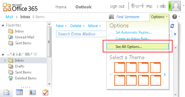 Outlook365 imap pop3 and smtp settings blog limilabs - Office 365 server settings outlook ...