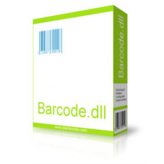 Barcode.dll is a powerful .NET component for creating barcode images.